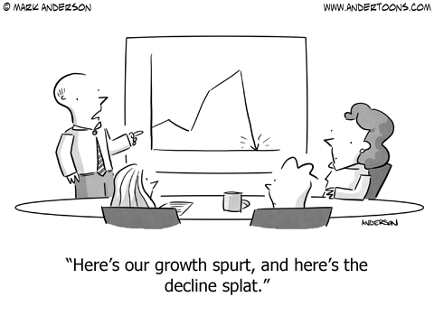 Growth Spurt - Design splat comic